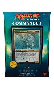 artifact deck mtg 2017 commander 2017 leaks feline ferocity cards spoilers inside
