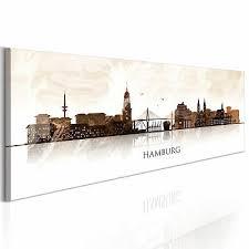 leinwand bilder hamburg architektur stadt wandbilder