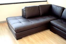 Alessia Leather Sectional Sofa by Sofa Impressive 2 Piece Leather Sofa Baxton Studio Abriana Dark