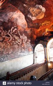mural by jalisco artist jose clemente orozco at palacio de