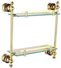 cndy badezimmer marmor gold doppel regal bad badezimmer glas