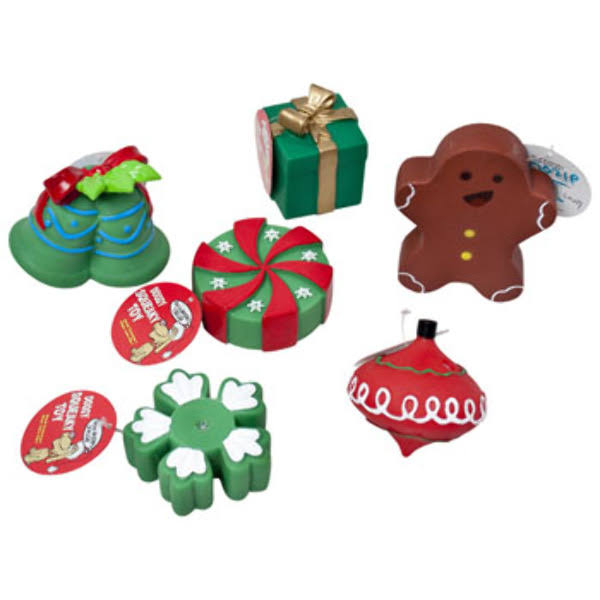 DDI 2319590 Squeaker Christmas Dog Toy - Case of 78