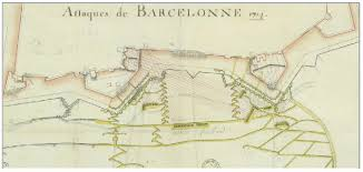http siege trenches to the walls of barcelona during the siege of the war of