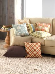throw pillows for brown couch style it festival blankets fancy tan