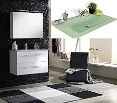 sam design badmöbel set basel in weiß 2 teilig grünes