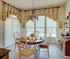 Kitchen Curtain Ideas Red Flower Fabric Windows Curtains Valances Patterns Stained Glass Window Wall