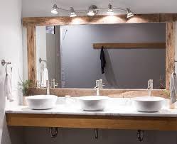 Industrial Modern Bathroom Mirrors by Client Work Calming Natural Yoga Studio Yoga Studio Design