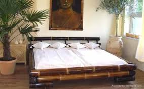 Beauty Bamboo Bedroom Furniture Oriental