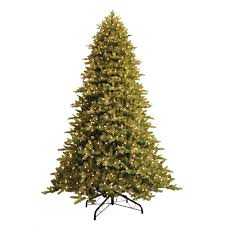 Just Cut Norway Spruce EZ Light Artificial Christmas Tree With 1000 Color Choice LED Lights