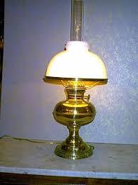 Antique Brass Aladdin Lamps by Lamp Shop