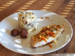 cuisine escalope de dinde escalope de dinde et purée de panais aux marrons recette de cuisine