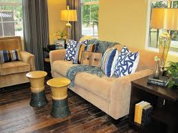 Impressive Ceramic Garden Stool In Living Room Contemporary With Grey And Yellow Next To Walls