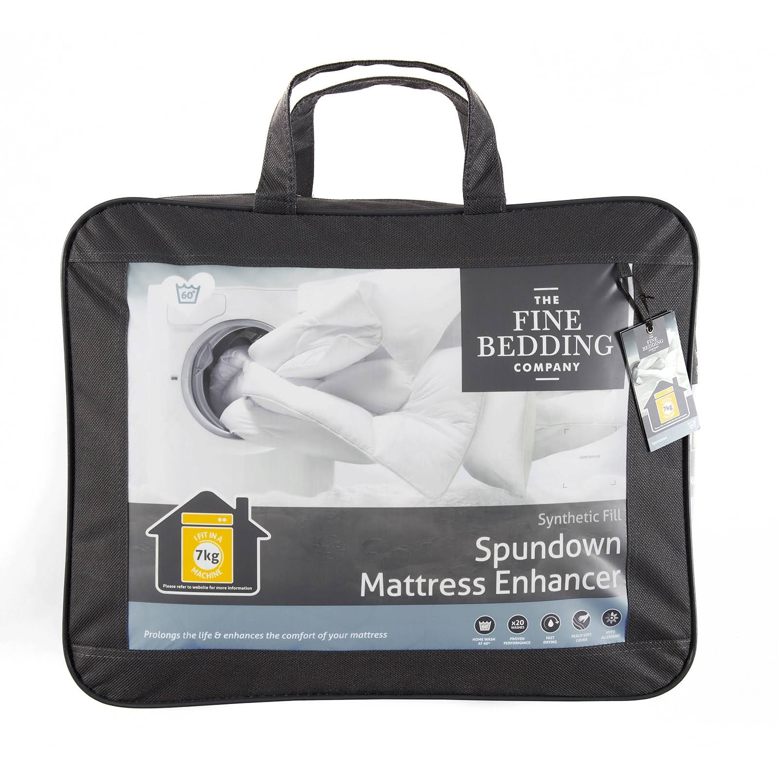 The Fine Bedding Company Spundown Mattress Enhancers