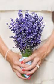 Beautiful Lavender Wedding Bouquet