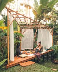 100 Houses In Nature Stay This EcoHouse Bali For 84 A Night GARDEN