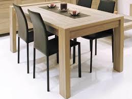 table à manger rectangulaire bois avec allonge l180 240xp90xh79cm oak