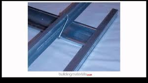 mf or metal furring plasterboard ceiling system youtube