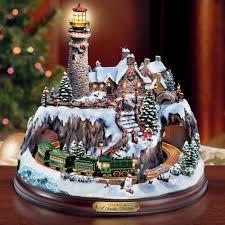 Thomas Kinkade Christmas Tree Wonderland Express by Thomas Kinkade Christmas Villages Thomas Kinkade Pinterest