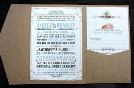 Amazing Rustic Pocketfold Wedding Invitations 76 This