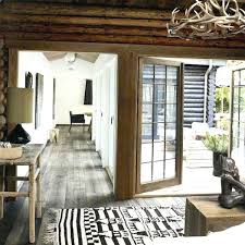 Modern Cabin Decor Rustic Monochromatic Chic And Interiors Log Interior Design