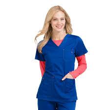 Ceil Blue Scrubs Amazon by Med Couture Mc2 Niki Top Shop Scrub Tops Now