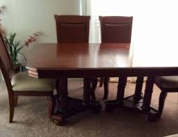 Maple Dining Room Set With 2 Piece Hutch And 6 Chairs 72x42 20 Leaf Pick Up For Sale In Longwood FL