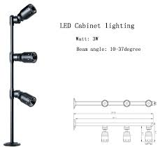 display led lighting fixtures jewelry lights cabinet