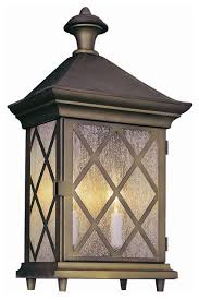 details about antique gold and seeded glass exterior wall light