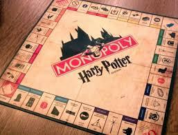 Harry Potter Monopoly Board