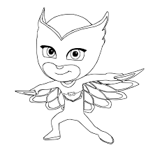 Disney Jr Halloween Coloring Pages by Pj Masks Coloring Pages Coloring Home