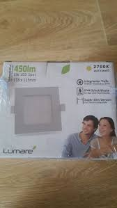 lumare led einbaustrahler 6w 230v ip44 ultra
