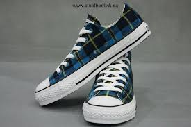 converse all plaid converse all plaid low top sneaker blue black yellow canada