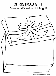 Chinese Gifts Coloring Pages Page New Year Colouring Christmas Gift Breadedcat Free