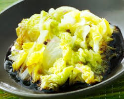 qu est ce qu un chinois en cuisine recette chou chinois sauce soja seb