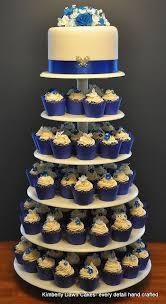 Royal Blue Wedding Cupcakes Just An Idea