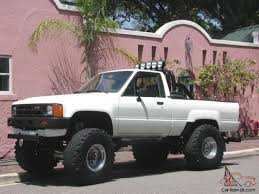 100 Pick Up Truck For Sale By Owner 1984 84 TOYOTA 4X4 TRUCK SR5 SHORT BED TRD MOTOR PKG 1 OWNER THE LAST 28
