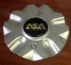 ASA IS1 Silver Licensed By BBS Wheel Rim Center Cap IS1-05 83225 ...