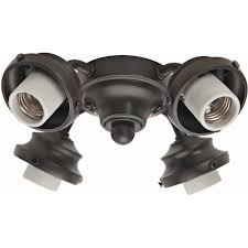 Mainstays Ceiling Fan Light Switch by Hunter Fan Company 99143 4 Light Fitter New Bronze Walmart Com