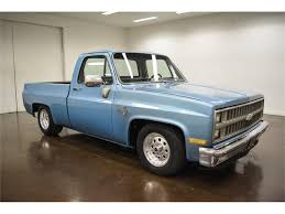 100 1981 Chevy Truck For Sale Chevrolet C10 For ClassicCarscom CC1152285