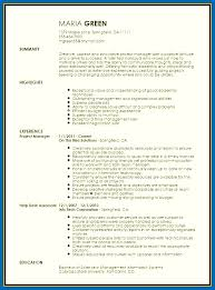 Time Management Skills Resume Examples Project Manager Creatives