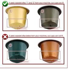 Refillable Nespresso Coffee Capsules