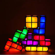 Tetris Stackable Led Desk Lamp India by 70 Off Rearand Rechargeable Tetris Light Led Games Lamp Toys Diy