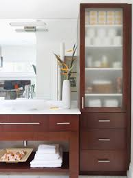 Unfinished Bathroom Cabinets Denver by Magnificent Bathroom Vanity Shelves New With Shelf Neoteric Ideas