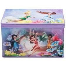 disney c fairies coffre a jouets non tissé