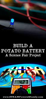 build a potato battery a circuit stem activity for the science fair