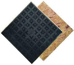 basement flooring over asbestos tiles ideas