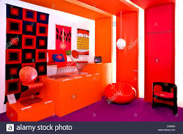 100 Pop Art Interior Room Interior At The Danish Stock Photo 53064344