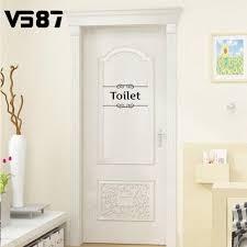 Funny Bathroom Door Art by Online Get Cheap Toilet Bathroom Door Signs Aliexpress Com