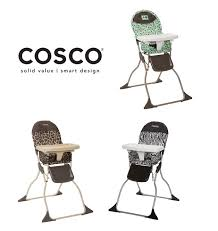 Cosco Flat Fold High Chair by Cosco Flat Fold High Chair 輕巧型 摺疊餐椅 Chopchop Baby