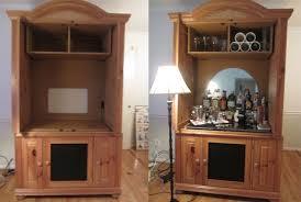 diy bar cabinet